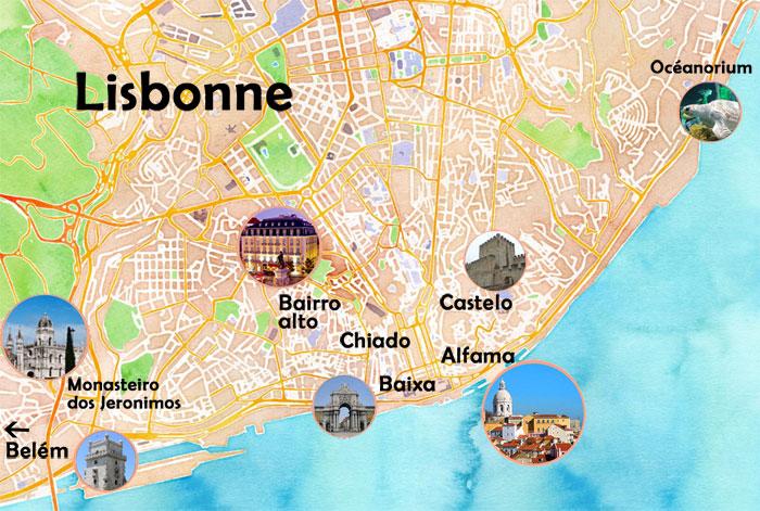 Centre Historique De Lisbonne Ides Dcoration
